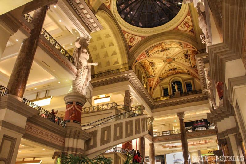 Guía de Las Vegas - El casino Caesar's Palace