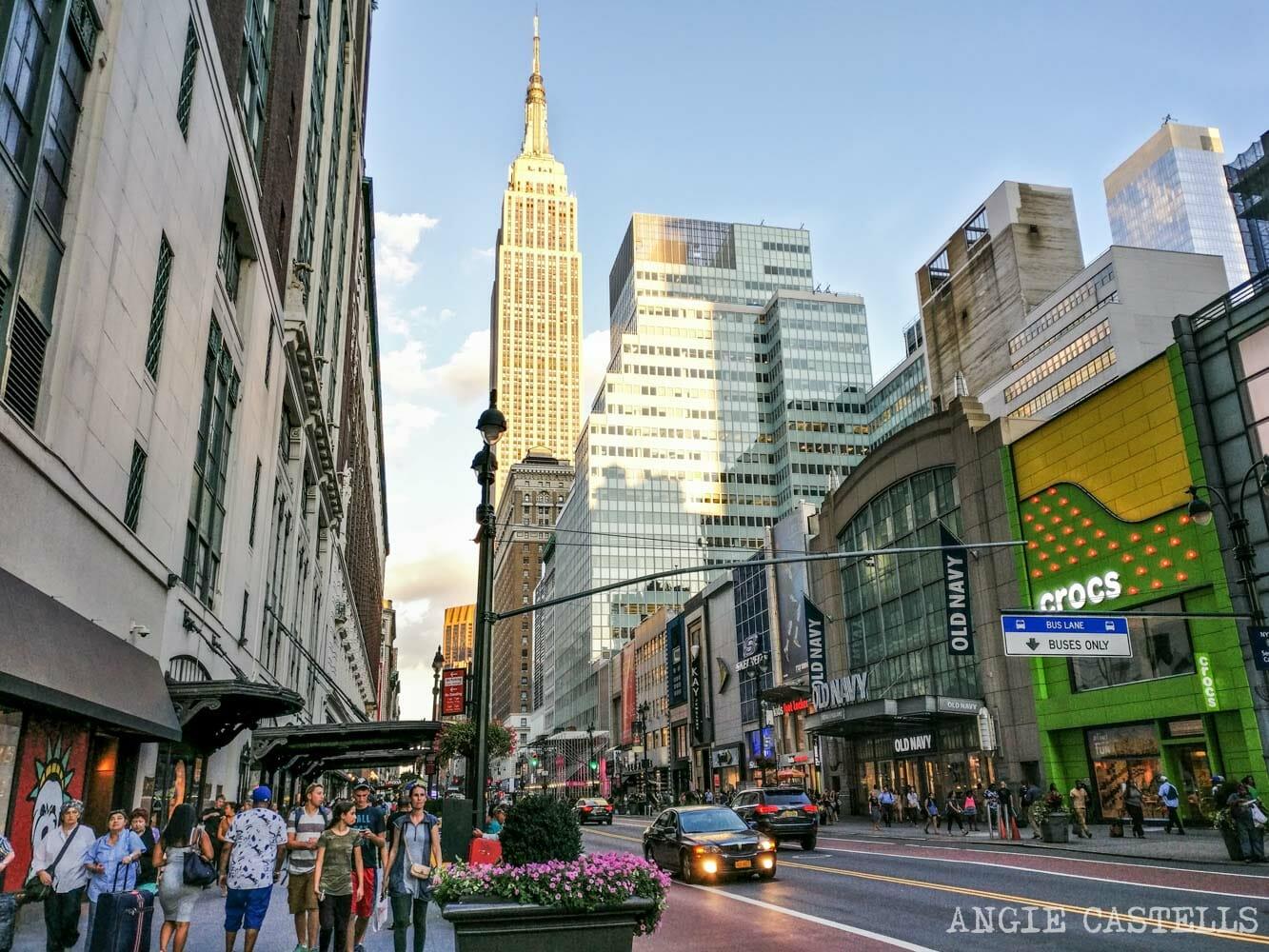 Dónde Comprar Ropa En Nueva York Las Mejores Tiendas