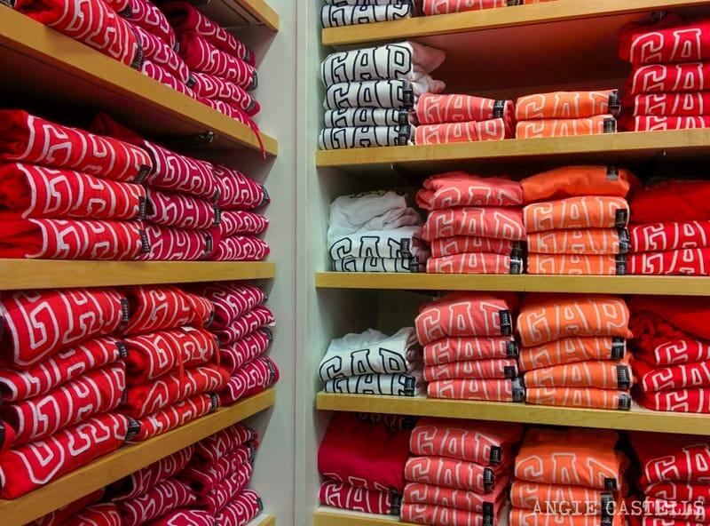 Dónde comprar ropa en Nueva York: la tienda GAP