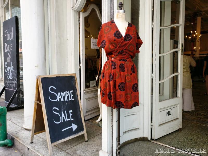 Dónde comprar ropa en Nueva York: las Sample Sales