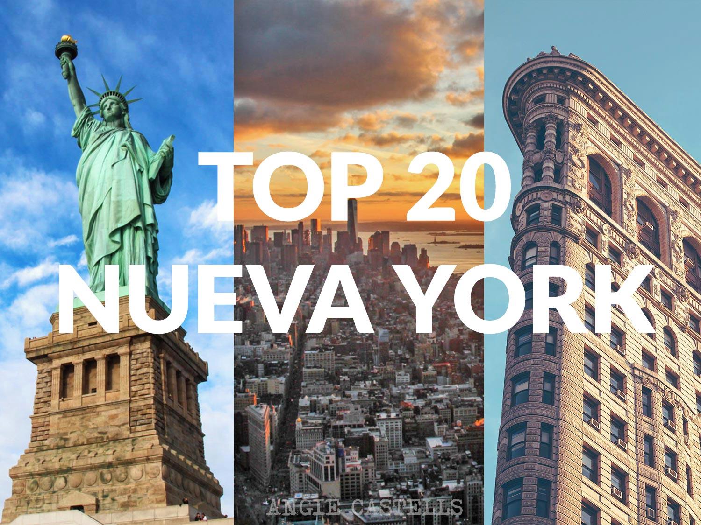Qué hacer en Nueva York. Top 20 lugares para tu viaje a la Gran Manzana.