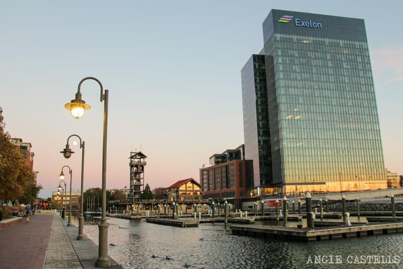Guía de Baltimore qué ver en 2 días Harbor East
