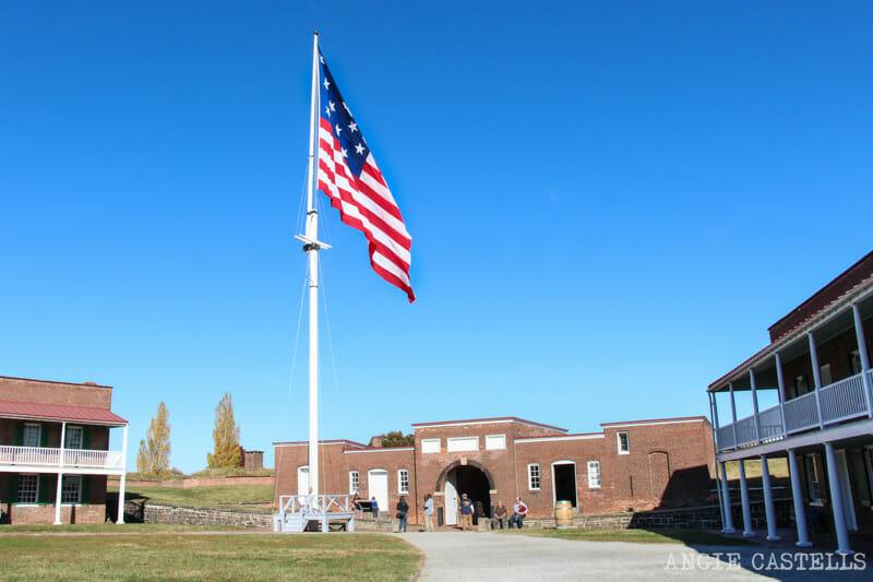 Guía de Baltimore qué ver en 2 días Fort McHenry