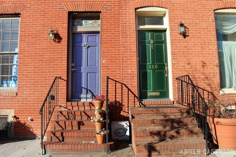 Guía de Baltimore qué ver en 2 días Federal Hill