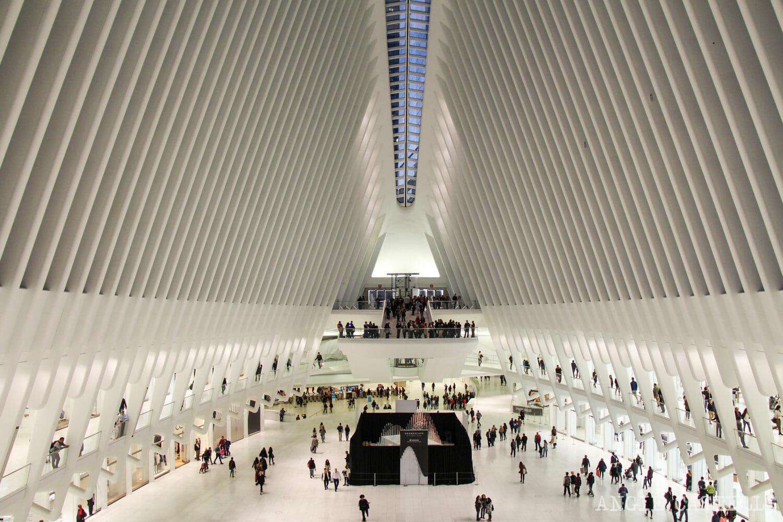Visitar Oculus World Trade Center estación centro comercial