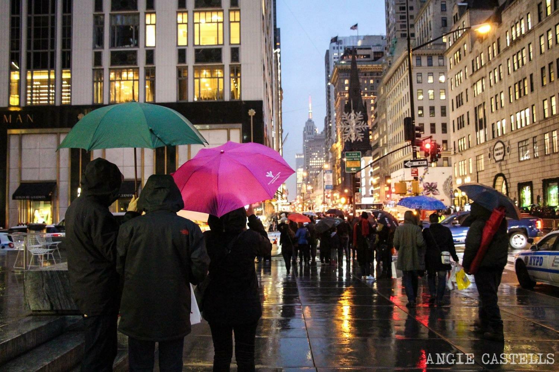 Qué hacer en Nueva York cuando llueve o nieva