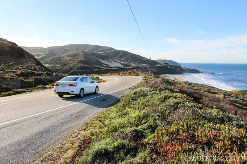 Recorrer carretera Big Sur Pacific Coast Highway California