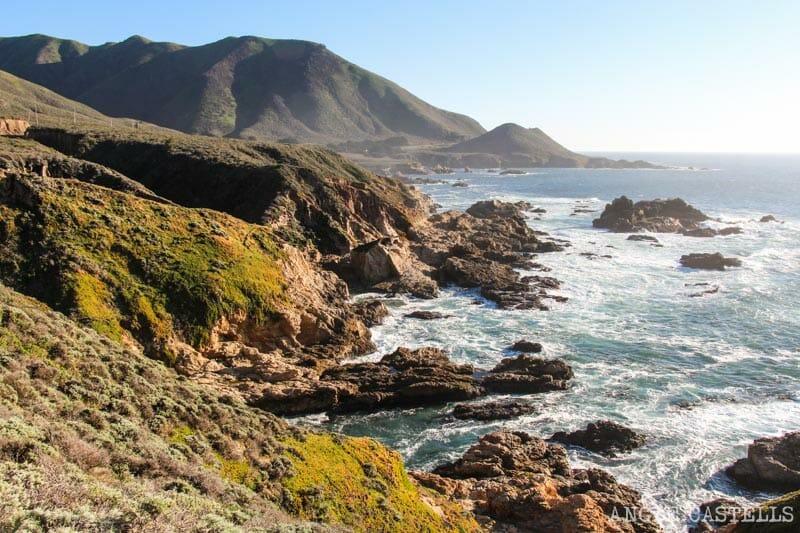 Ruta por el Big Sur y la Pacific Coast Highway, en California