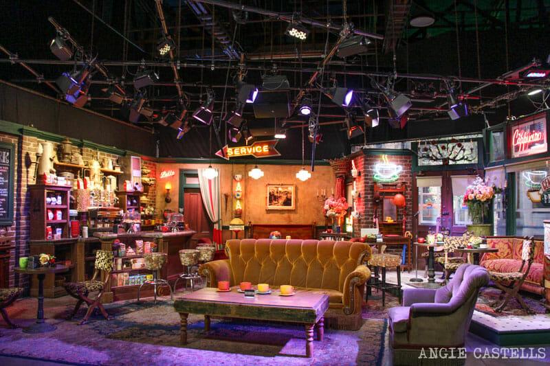 Escenarios Friends Nueva York Central Perk WB Studios Los Angeles