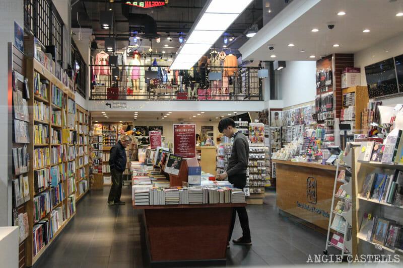 Visitar Koreatown barrio coreano de Nueva York libreria