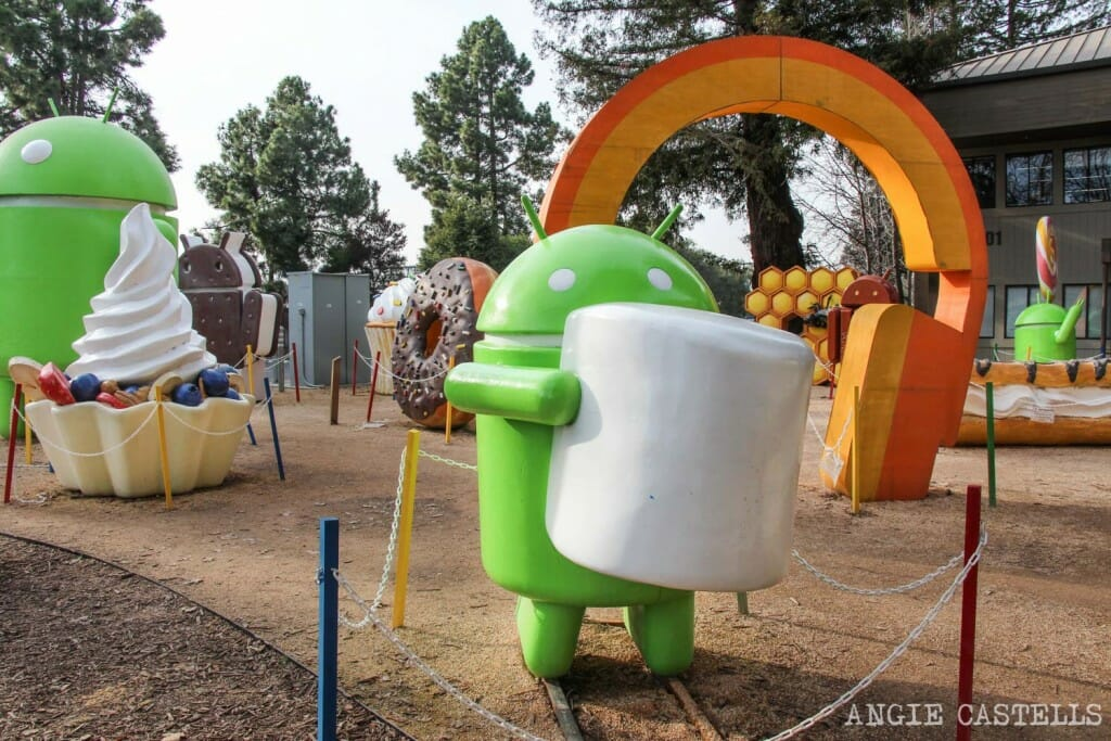 Guia Silicon Valley California Visitar Google Android