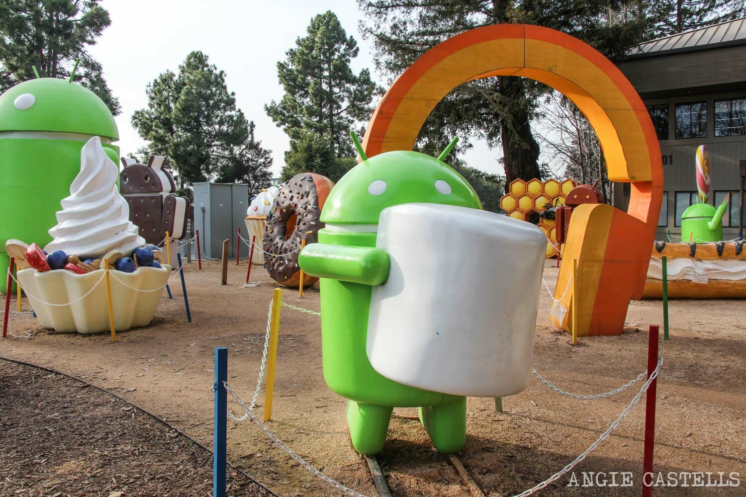 Ruta por Silicon Valley, California - Visitar Google Android