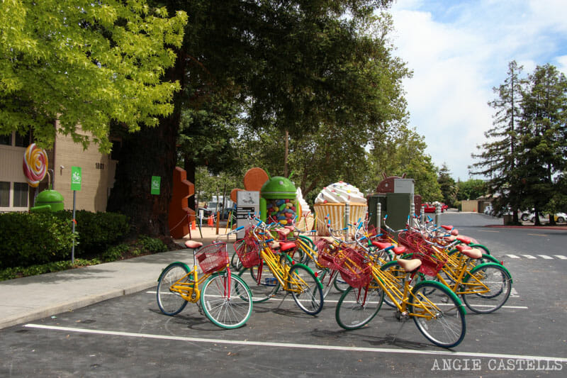 Ruta por Silicon Valley, California - Visitar Google