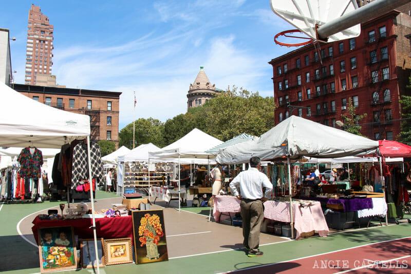Mejores mercadillos Nueva York Grand Bazaar Upper West Side