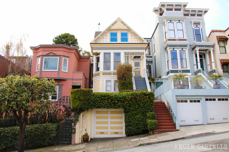 Que ver San Francisco Itinerarios Casas Victorianas
