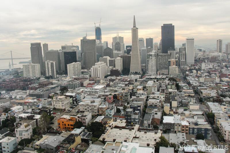 Qué ver en San Francisco: Itinerarios Coit Tower