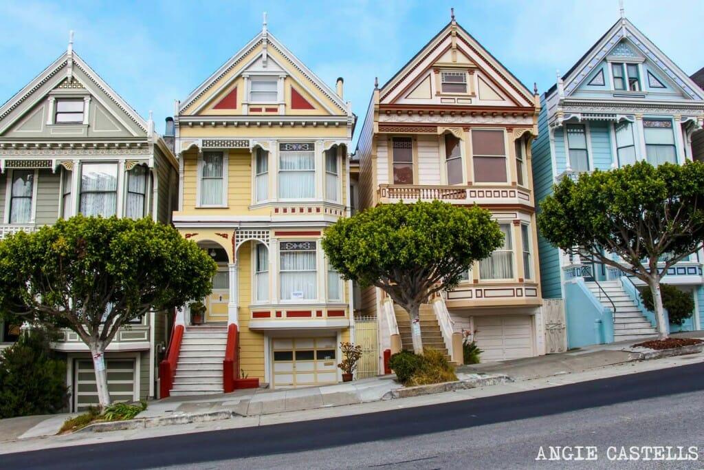 Que ver San Francisco Itinerarios 1500 Painted Ladies