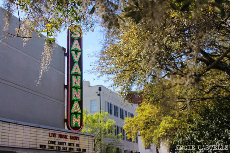 Guia de Savannah que ver y hacer Chippewa Square 2