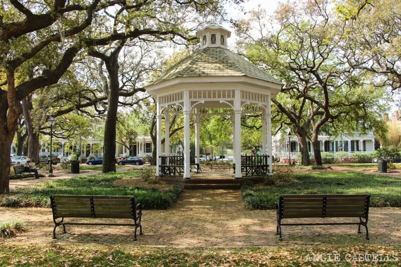 Guia de Savannah que ver y hacer Whitefield Square