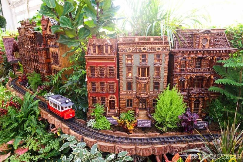 Visitar el Jardín Botánico de Nueva York - Holiday Train Show