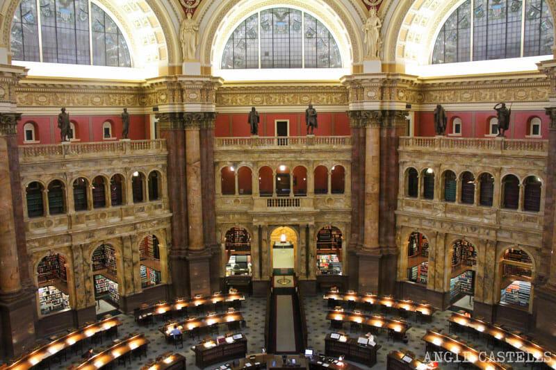 Guia Washington DC Que ver Excursion desde Nueva York Biblioteca del Congreso