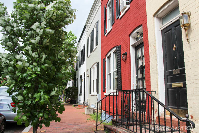 Guia Washington DC Que ver Excursion desde Nueva York Georgetown casas