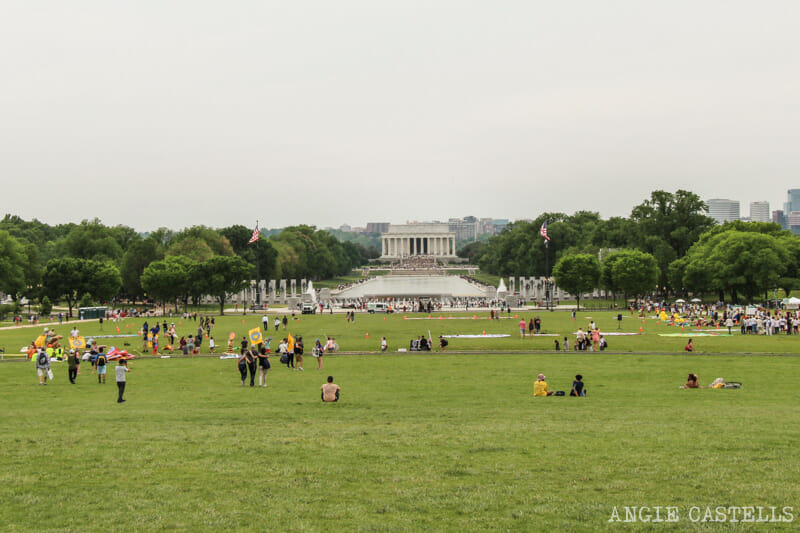 Guia Washington DC Que ver Excursion desde Nueva York Mall Lincoln Monument