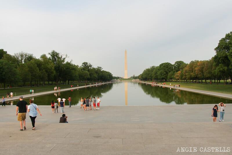 Guia Washington DC Que ver Excursion desde Nueva York Piscina reflectante