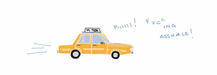 Cosas que te pasarán en Nueva York taxi