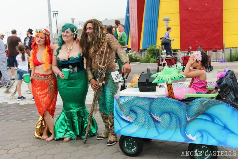 El mes de junio en Nueva York - El desfile de sirenas de Coney Island