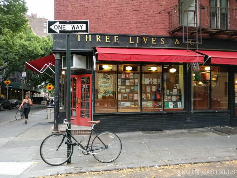 Mejores librerias de Nueva York Three Lives