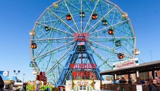 Coney Island, parque de atracciones y playas en Nueva York