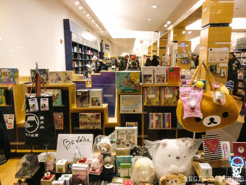 La libreria Kinokuniya de Nueva York, en Bryant Park 800