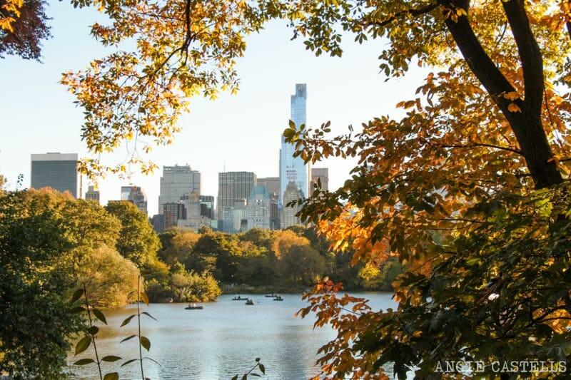 Octubre en Nueva York que hacer Central Park