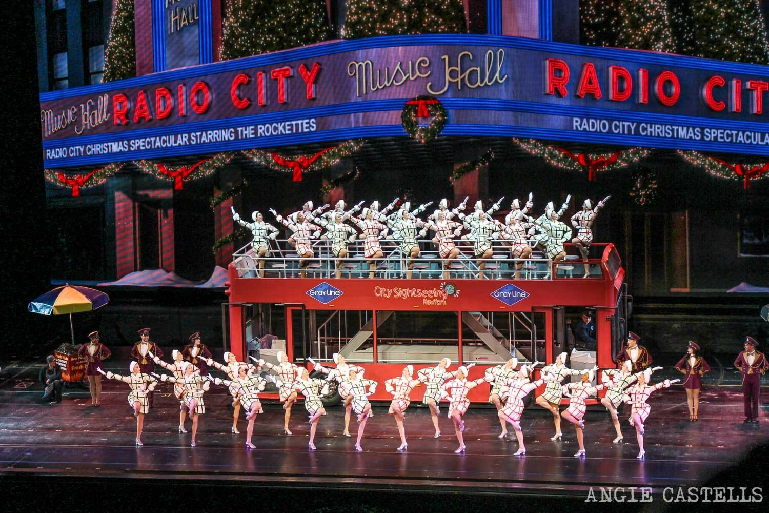 Rockettes Navidades Nueva York Radio City Music Hall
