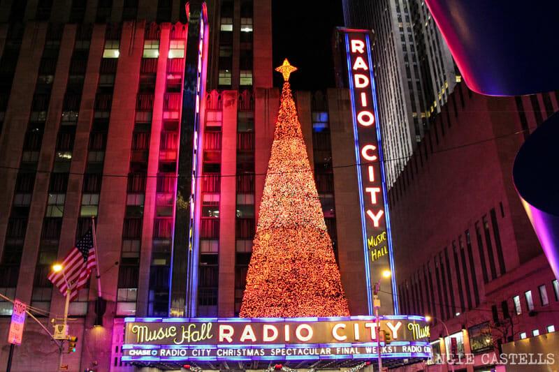 Las Navidades en Nueva York que ver y hacer Radio City Music Hall
