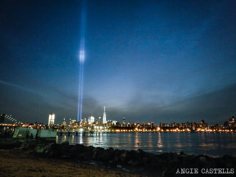 11 de septiembre en Nueva York: las luces de Tribute in Light