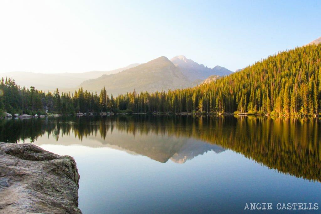 Ruta por Colorado en coche: lagos del Rocky Mountain National Park