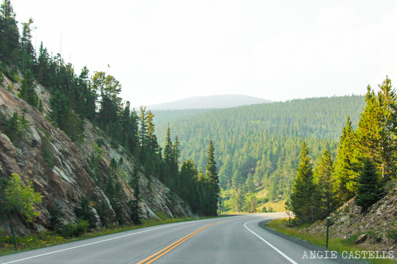 Ruta por Colorado en coche: Peak to Peak Highway 2