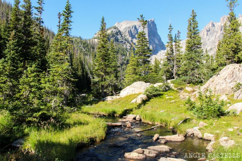 Ruta por Colorado en coche: Nymph Lake y Dream Lake