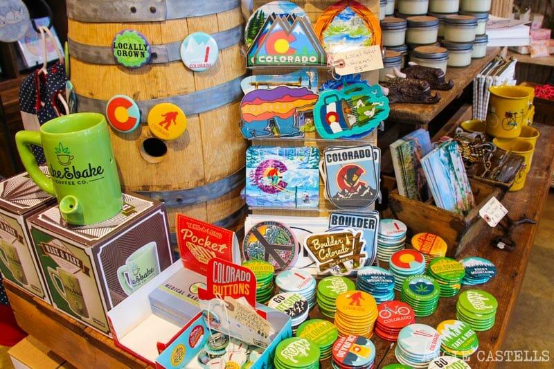 Ruta por Colorado en coche: souvenirs en Boulder