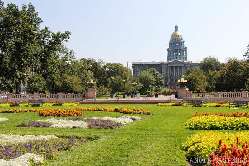 Ruta por Colorado: el capitolio de Denver