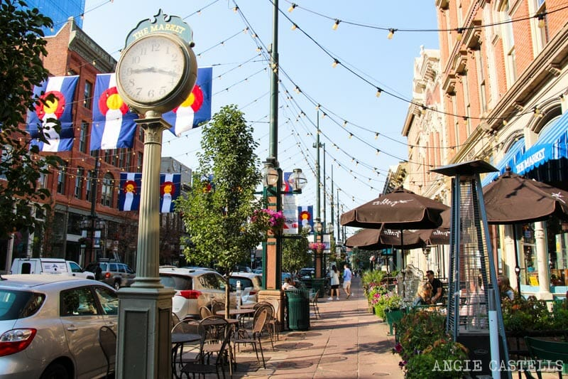 Ruta por Colorado: Larimer Square, en Denver