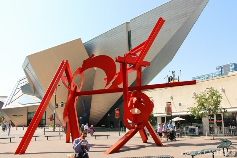 Ruta por Colorado: el Denver Art Museum