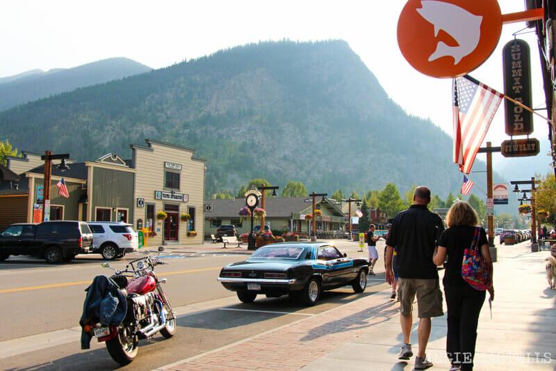 Ruta por Colorado en coche: el pueblo de Frisco
