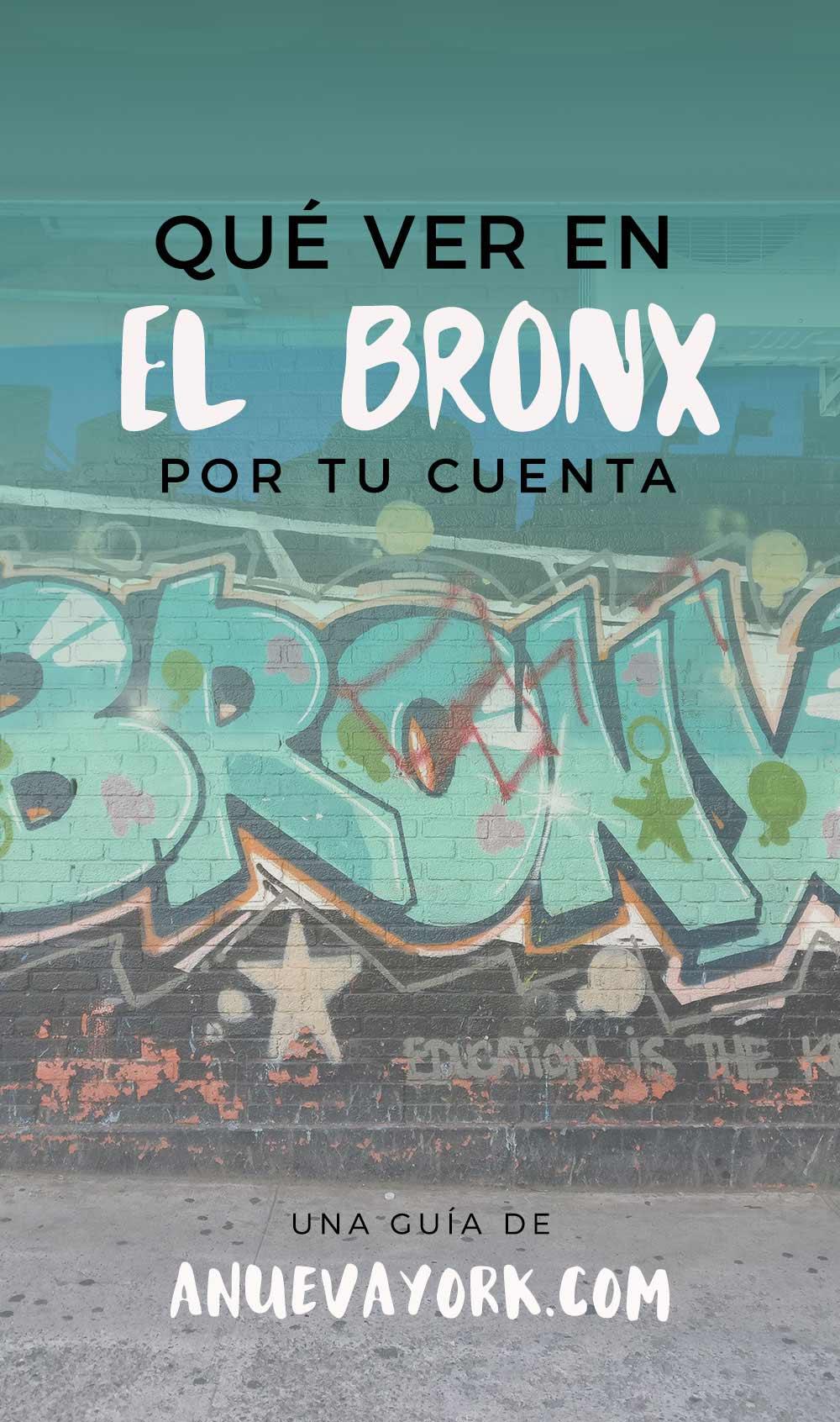 Que ver en el Bronx Guia Pinterest