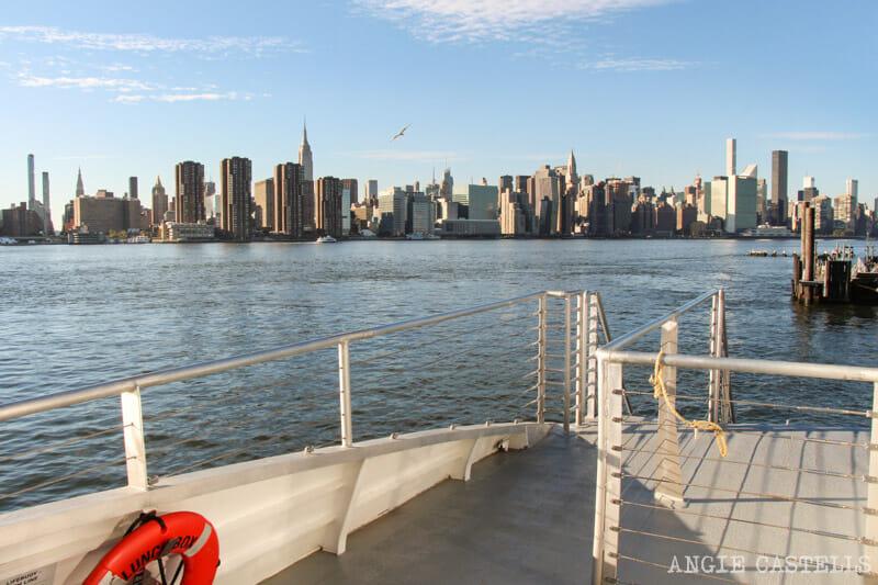 NYC Ferry, el mejor ferry de Nueva York para navegar por el East River