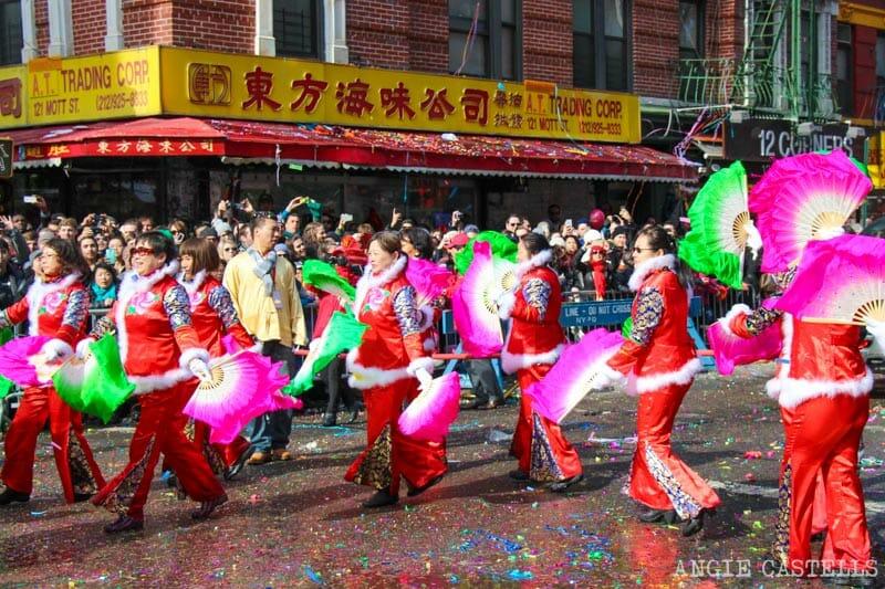 Qué hacer en Nueva York en febrero: Año nuevo chino en Chinatown