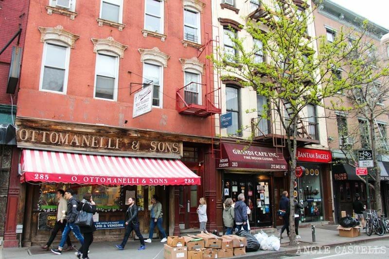 Guía del West Village de Nueva York: Bleecker Street