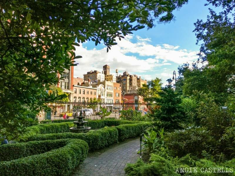 Guía del West Village de Nueva York: el Jefferson Market Garden